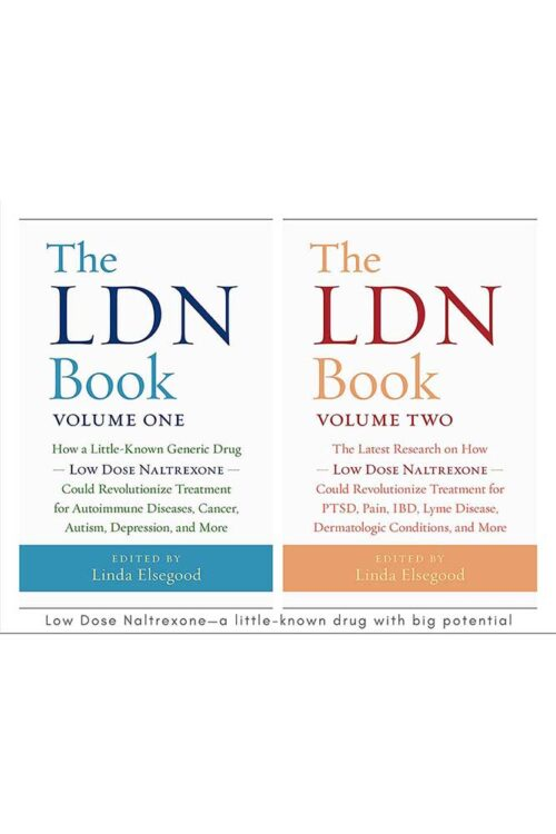 Low Dose Naltrexone volumes 1 and 2 book cover